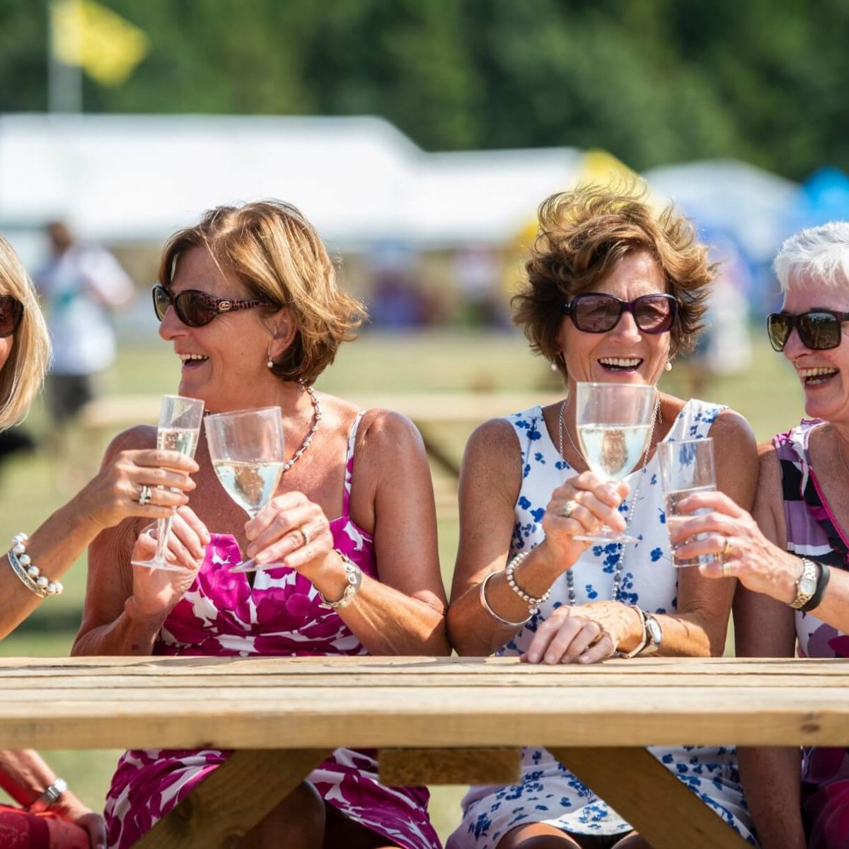 Ladies enjoying a day out at the Border Union Show