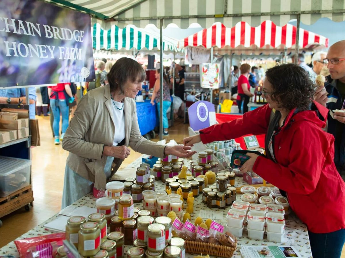 Food Fair in Kelso at the Border Union Show