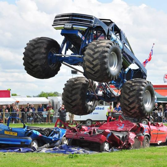 Monster Trucks will be at the Border Union Show in Kelso this year