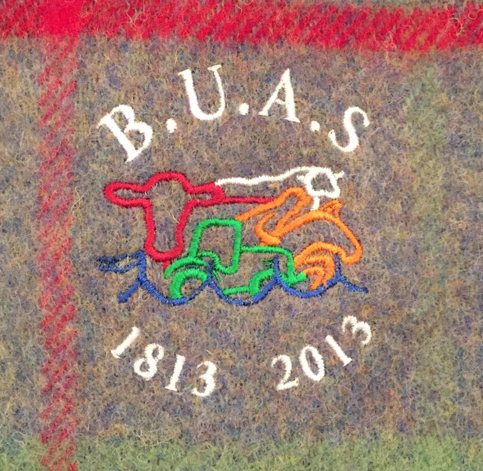 Border Union Rug with BUAS logo