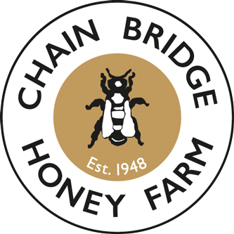 The chain bridge honey farm logo