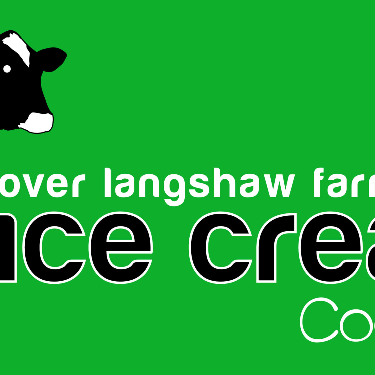 over langshaw ice cream logo