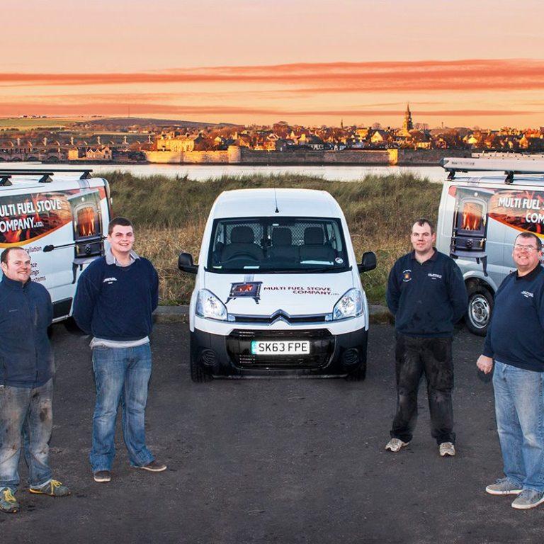 multi stove company vans